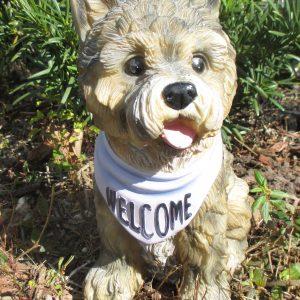 Dog Welcome - Ornamental Concrete Mold