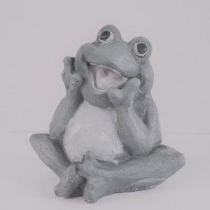 Happy Frog - Ornamental Concrete Mold
