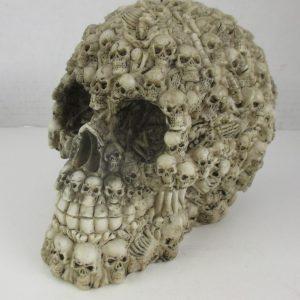 Skull of Skulls - Ornamental Concrete Mold